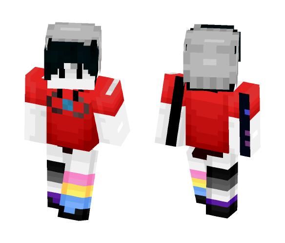 I tried to make my new sona (tried) - Interchangeable Minecraft Skins - image 1