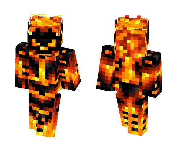 Minecraft Skins: Download Fire Demon Minecraft Skin For Free