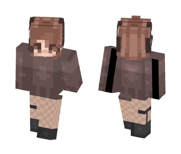 Brown Horns - Female Minecraft Skins - image 1