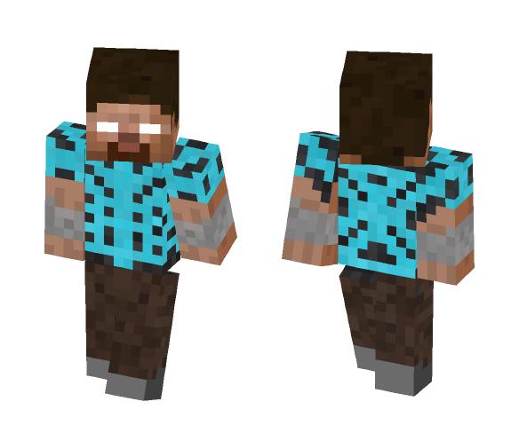 BluPhenyx Herobrine - Herobrine Minecraft Skins - image 1