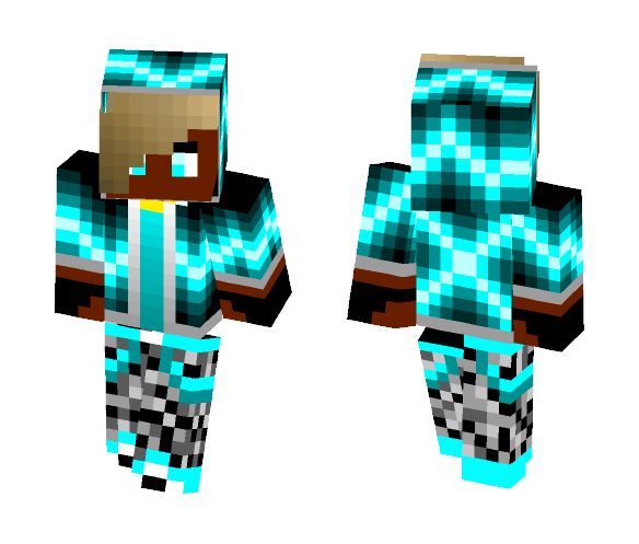 Ghost Thunder - Male Minecraft Skins - image 1