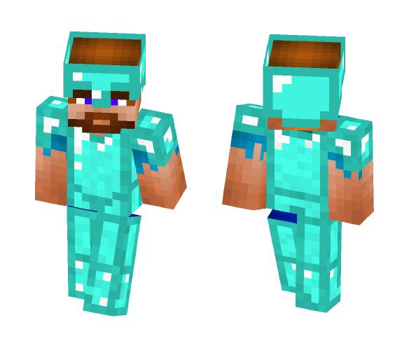 Download Diamond Armor Custom Steve Minecraft Skin For Free Superminecraftskins