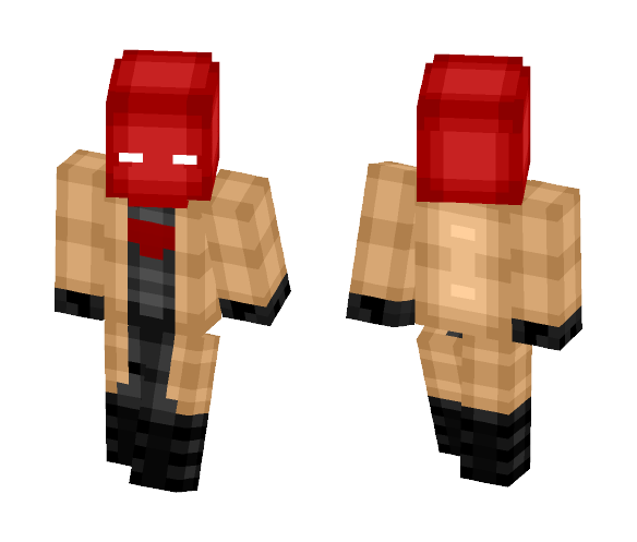 The Red Hood Earth-69 (DC Rebirth) - Comics Minecraft Skins - image 1