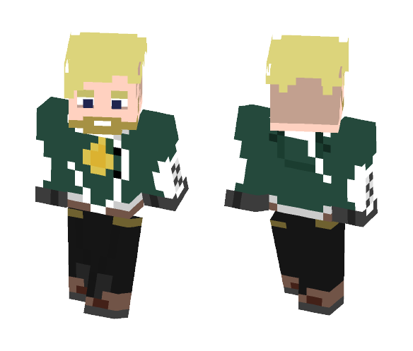 Star Lord concept - Male Minecraft Skins - image 1