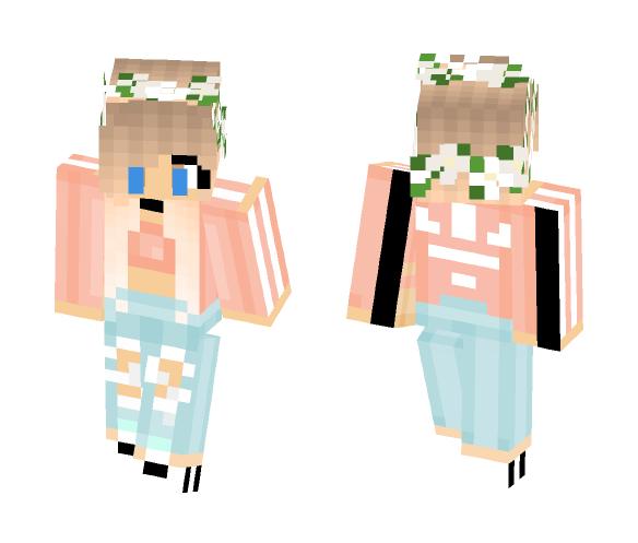 Download Pretty Kawaii Adidas girl Minecraft Skin for Free