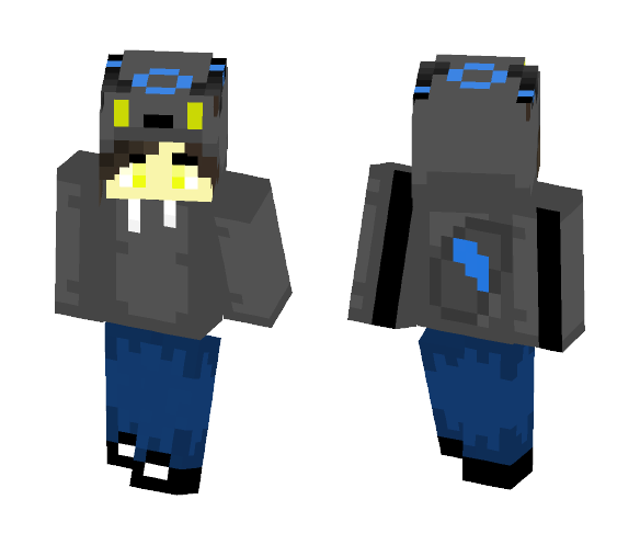 Umbreon Boy --- Ultrabobt - Male Minecraft Skins - image 1