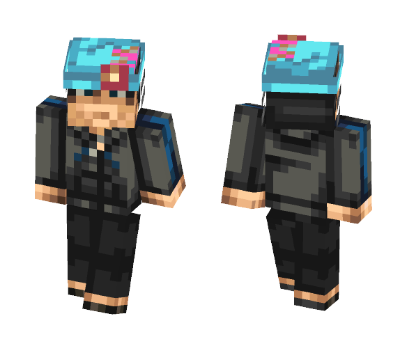 Phoenix Wright AJ - Male Minecraft Skins - image 1