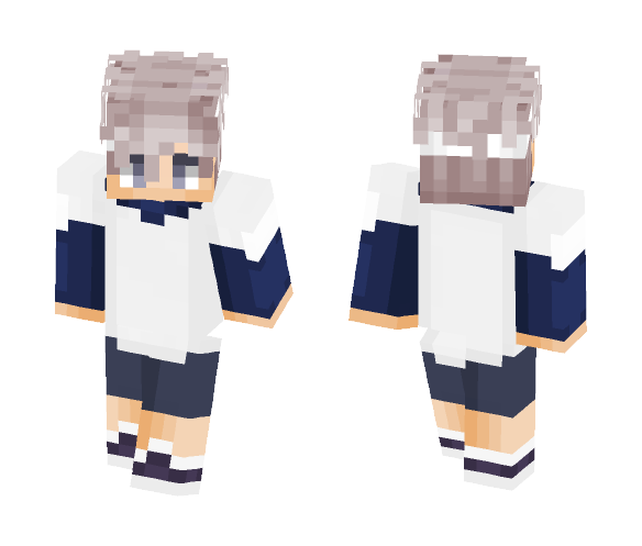 Killua - Male Minecraft Skins - image 1