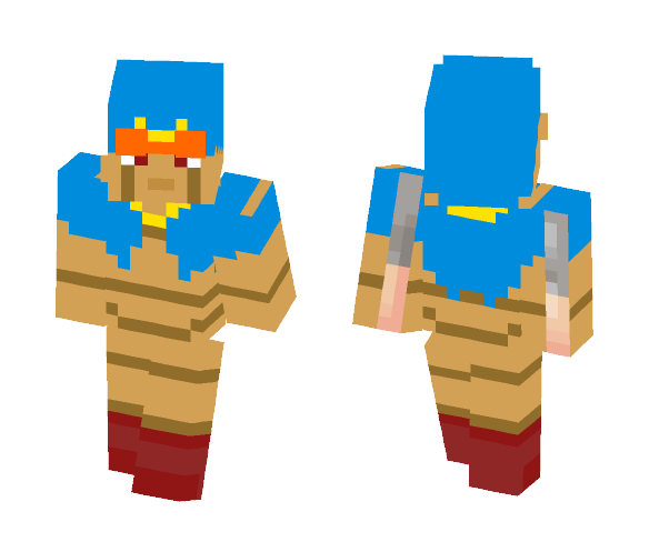 Geno from Super Mario RPG - Male Minecraft Skins - image 1