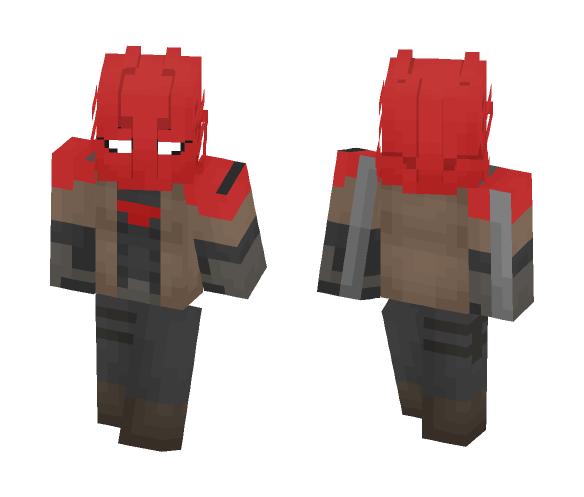 Red Hood(Custom) - Male Minecraft Skins - image 1