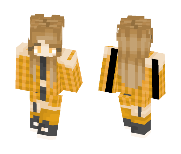 Leo // Zodiac Series - Female Minecraft Skins - image 1