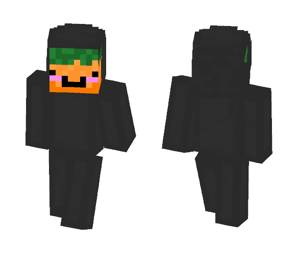 Sith Carrot Lord - Male Minecraft Skins - image 1