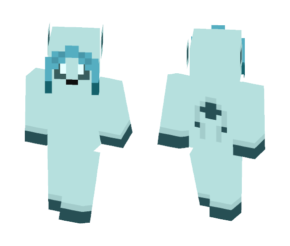 Pokemon: Glaceon (#471) - Interchangeable Minecraft Skins - image 1