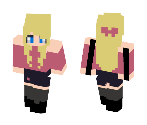 School Uniform - Female Minecraft Skins - image 1