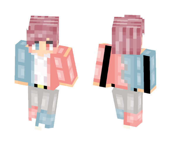 Download Fel Gemini My Birthday Gift Minecraft Skin For Free