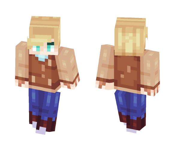 Jacket Unmasked - Hotline Miami - Male Minecraft Skins - image 1