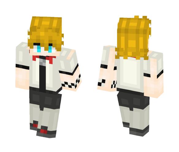 Download Roxas Kingdom Hearts 2 Minecraft Skin For Free