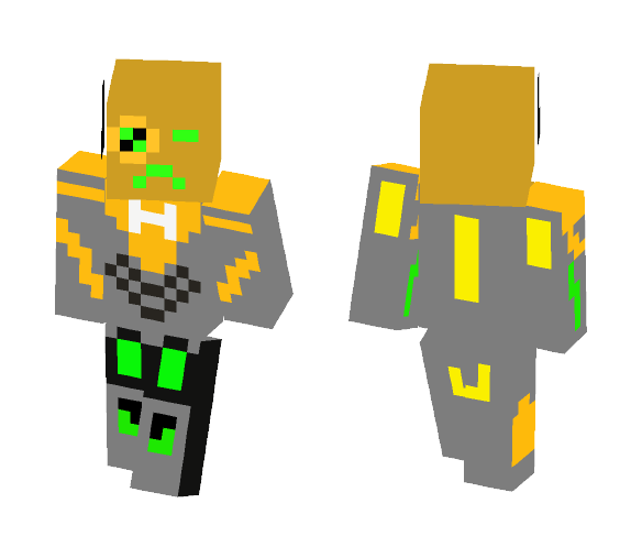 Download Lego Hero Factory Rocka 40 Minecraft Skin For Free