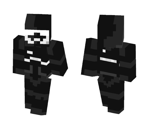 TFO Shadow Trooper - Male Minecraft Skins - image 1