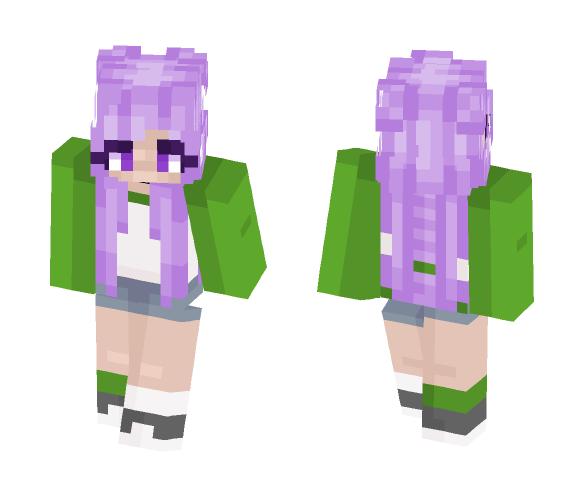 Genderqueer Pride - Female Minecraft Skins - image 1