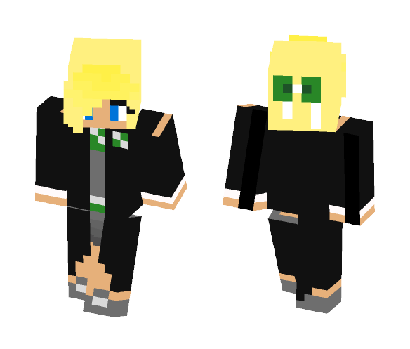 Hogwarts slytherin blond girl - Female Minecraft Skins - image 1