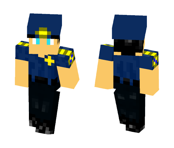 Download Police Department Captain Minecraft Skin for Free