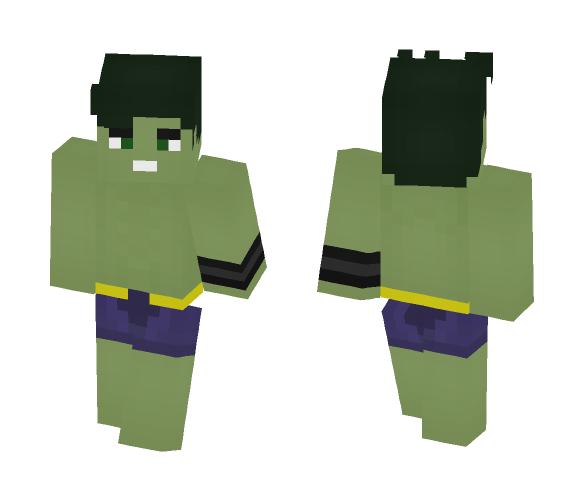 Hulk (Amadeus) (Marvel) - Comics Minecraft Skins - image 1