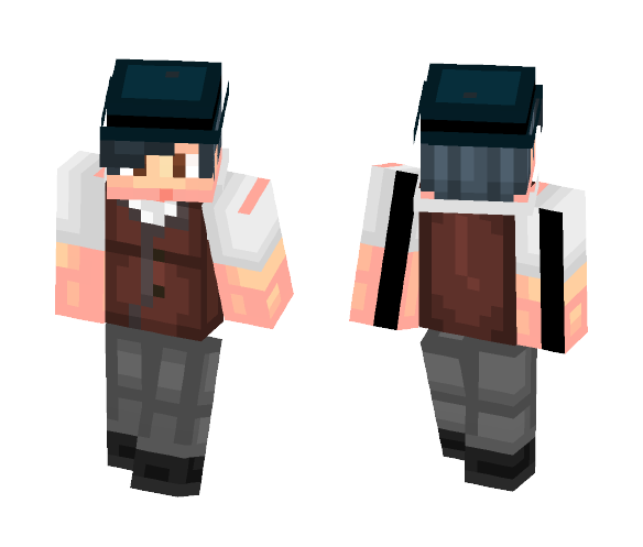 My OC- Detective - Male Minecraft Skins - image 1
