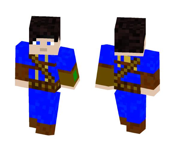 Fallout 4 Lone Survivor - Male Minecraft Skins - image 1