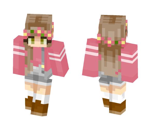 i like flowers - Female Minecraft Skins - image 1