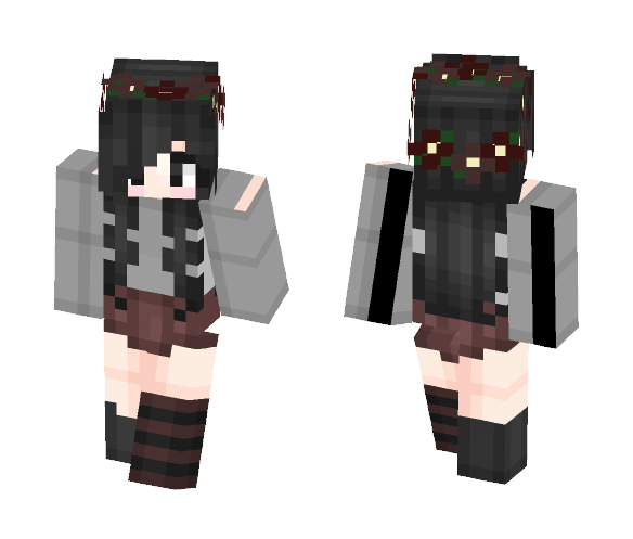 it's a girl - Female Minecraft Skins - image 1