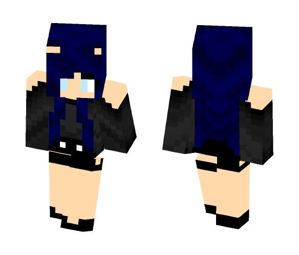 First Skin!! OC ~Eclipse~ - Female Minecraft Skins - image 1