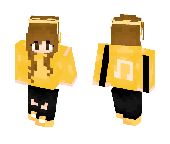Music girl - Girl Minecraft Skins - image 1