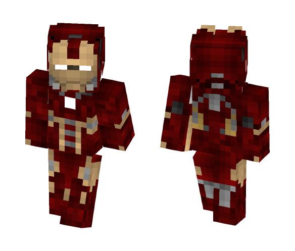 Người Sắt - Iron Man - Male Minecraft Skins - image 1