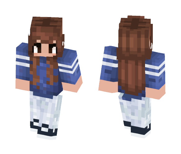 Trendy Girl - Girl Minecraft Skins - image 1