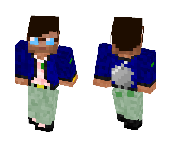 Apple Genius (Leader) - Male Minecraft Skins - image 1