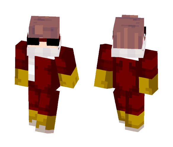 Download The Flash Earth 19 Minecraft Skin For Free