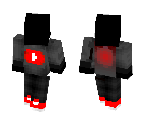 YouTuber cloths overlay - Interchangeable Minecraft Skins - image 1