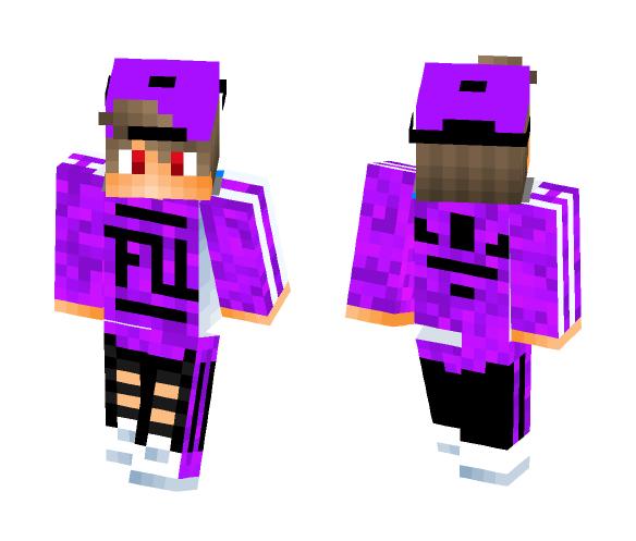 Galaxy FU KryptHaxe_PvP - Male Minecraft Skins - image 1