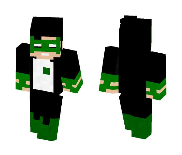 Kyle rayner | Green lantern corps - Comics Minecraft Skins - image 1