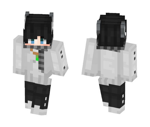 Download Cute Wolf With A Scarf Minecraft Skin For Free Superminecraftskins