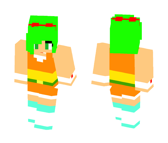 GUMI MegPoid {lola} - Female Minecraft Skins - image 1