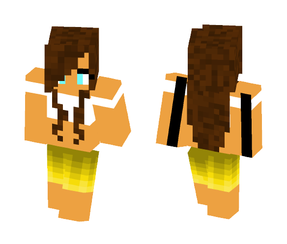 Hawaii Dream - Female Minecraft Skins - image 1