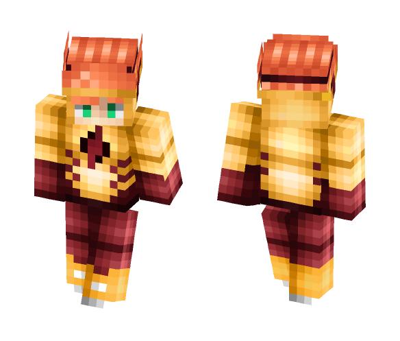 Kid Flash a.k.a Wally - Male Minecraft Skins - image 1