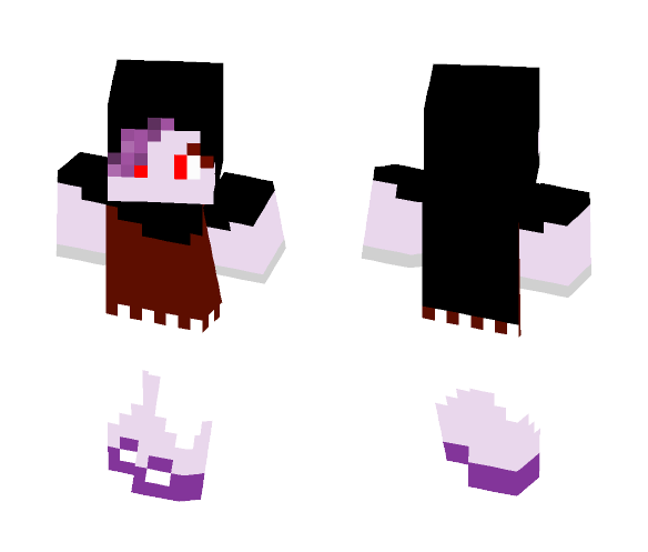 I am a vampire now - Female Minecraft Skins - image 1