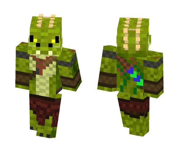 Crocodile Warrior - Male Minecraft Skins - image 1