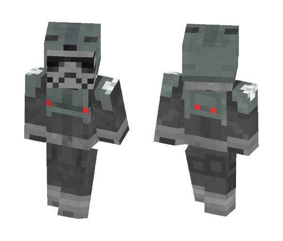 Download Imperial Combat Driver Minecraft Skin for Free