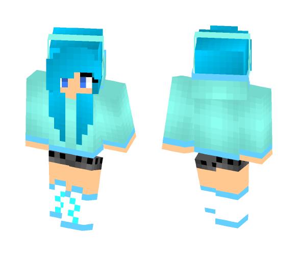 Wet n Wild Water Girl - Female Minecraft Skins - image 1
