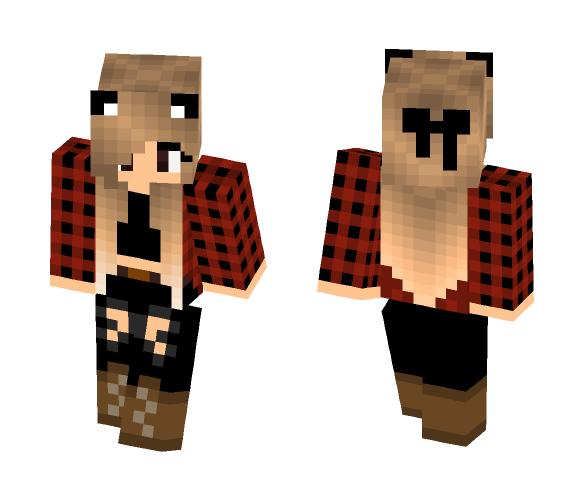 Download Cute Panda Tomboy Minecraft Skin For Free Superminecraftskins