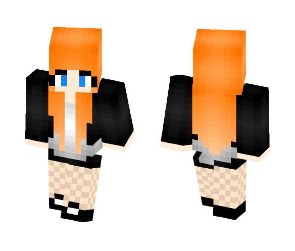 Cute Redhead Girl - Cute Girls Minecraft Skins - image 1
